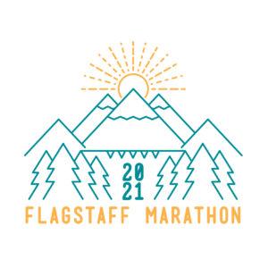 Flagstaff Marathon Logo
